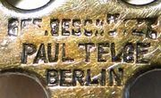 Paul Telge Berlin Brosche Hiddensee Kreuz Wikinger König Blaubart Replik