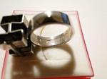 Elis Kauppi - Kupittaan Kulta silver ring Kubus cubus
