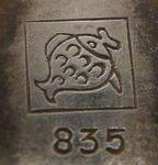 VEB Fischlandschmuck 1948 - 1958 Punze Hallmark