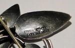 H9 = 1958 Svan Erik Swane silber silver brooch brosche broche