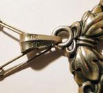 Carl M. Cohr Silber silver kette pendant necklace flower blossom
