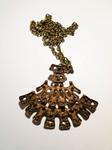 Studio E&P Of Norway bronce pendant Bronze Kette Else Paul Hughes