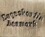 Løgeskov Tin Denmark hallmark Punze Dänemark Danmark Denmark
